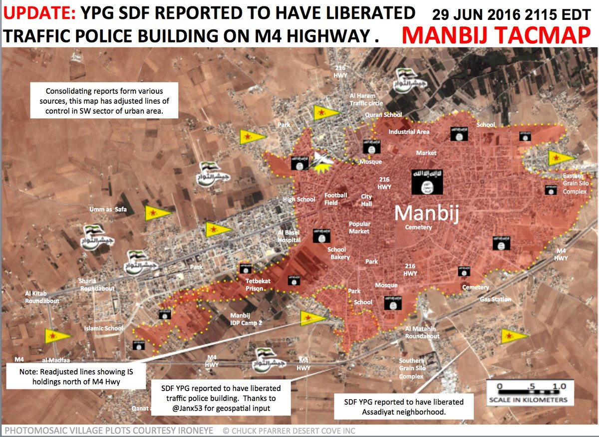 Kurds Liberate Another Neighborhood in Syria's Manbij