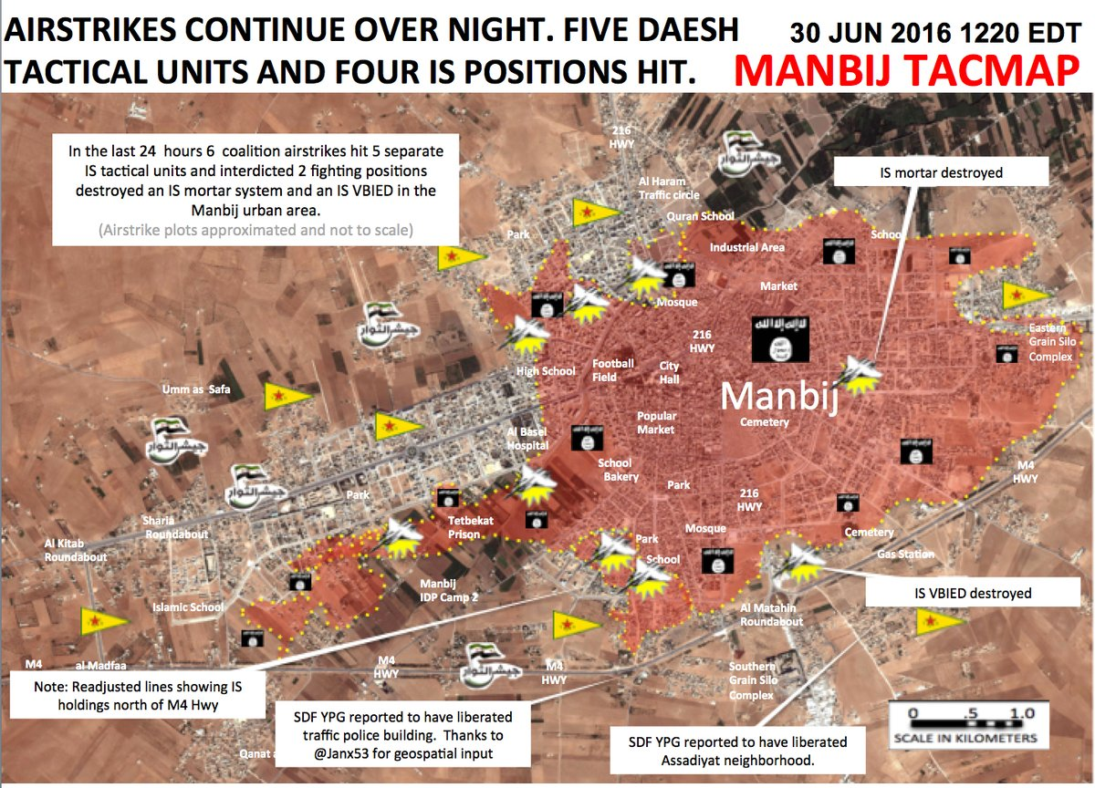 Syrian Democratic Forces Intensifying Operations in Southwestern Manbij