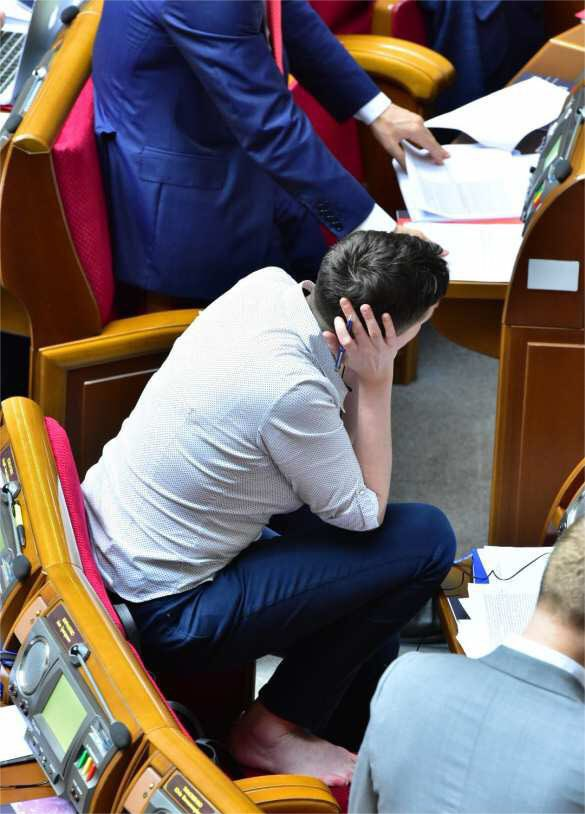 A Common Ukrainian Member of Parliament: Nadiya Savchenko (Photos)
