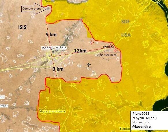 ISIS on the Verge of Collapse in Manbij