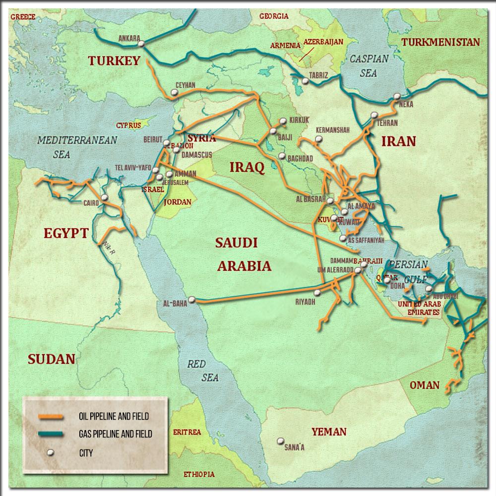 Modern Iraq As Battleground Of Geopolitical Standoff In Middle East