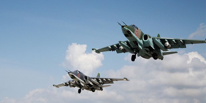 Russian Fighter Jets Destroy ISIS Oil Tankers, Purges Al Nusra Manpower across Syria