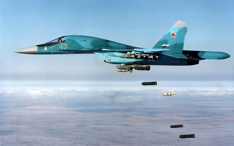 Russian airstrikes pound ISIS insurgents at Deir Ezzor as sandstorm clears up