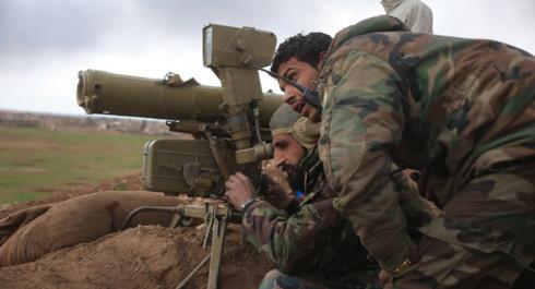 SAA Continues Advance on Deir El Zor