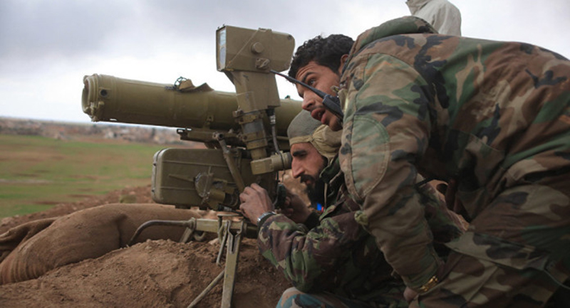 Waves of ISIS fighters charge at Syrian Army positions in Deir Ezzor
