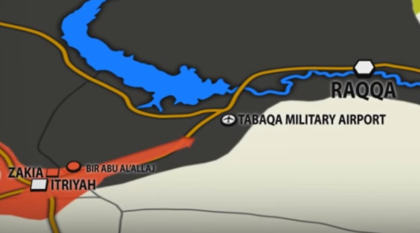 Syrian Army Moves Closer to Strategic Tabaqa Airbase in Raqqa Province