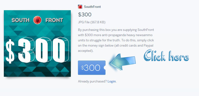SouthFront Needs Your Help To Continue Its Work