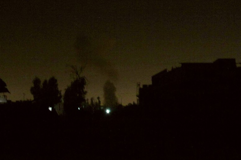 Republican Guard blows up insurgent sniper nest in Jobar, Damascus