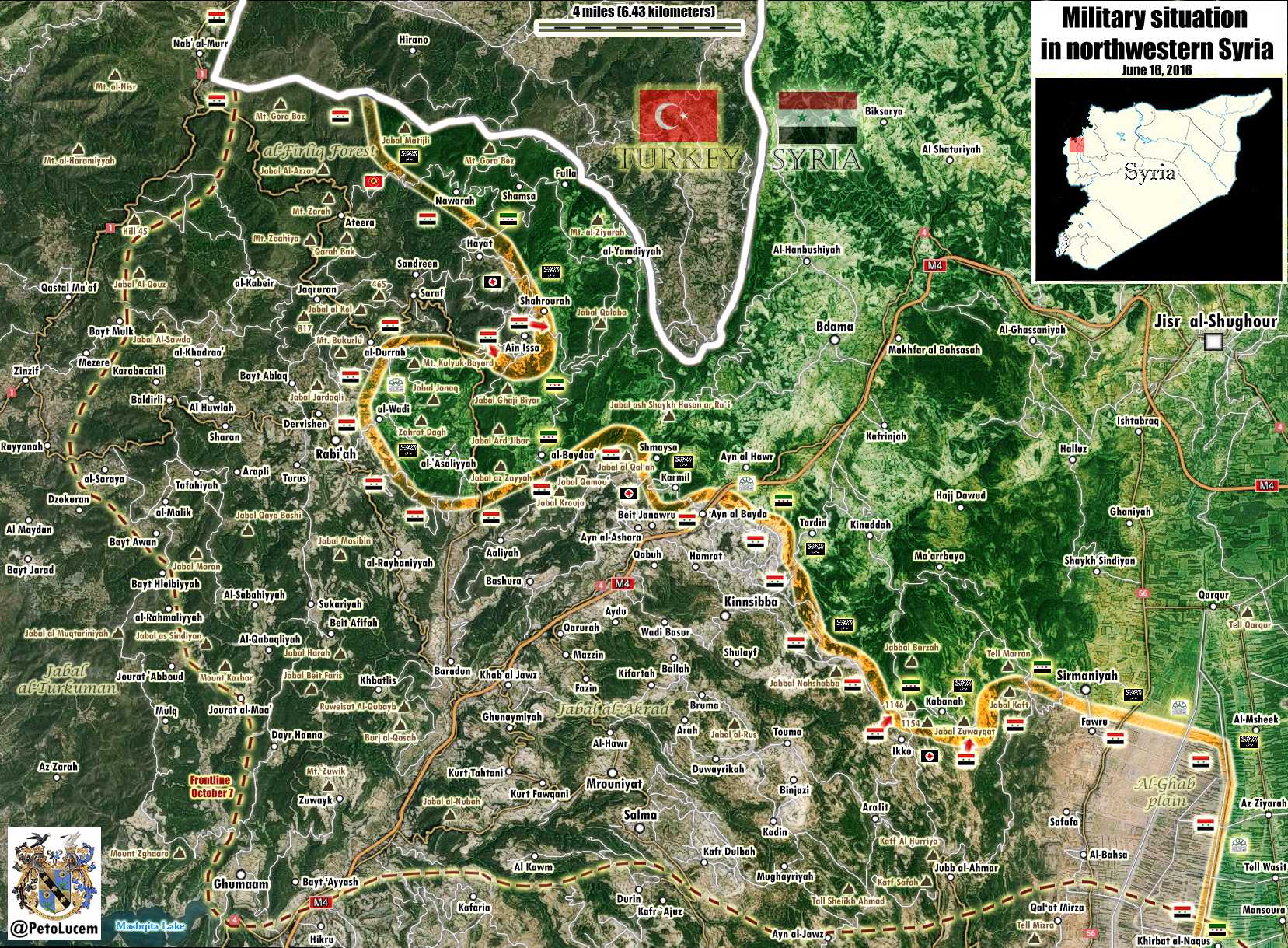 Syrian Army Succeeds in Latakia Province amid Heavy Clashes with All Nusra and Allies