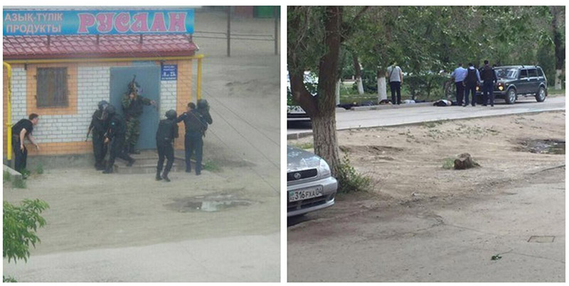 At least 3 Killed, 10 Injured in Militants' Attack on Military HQ in Kazakhstan (Videos)