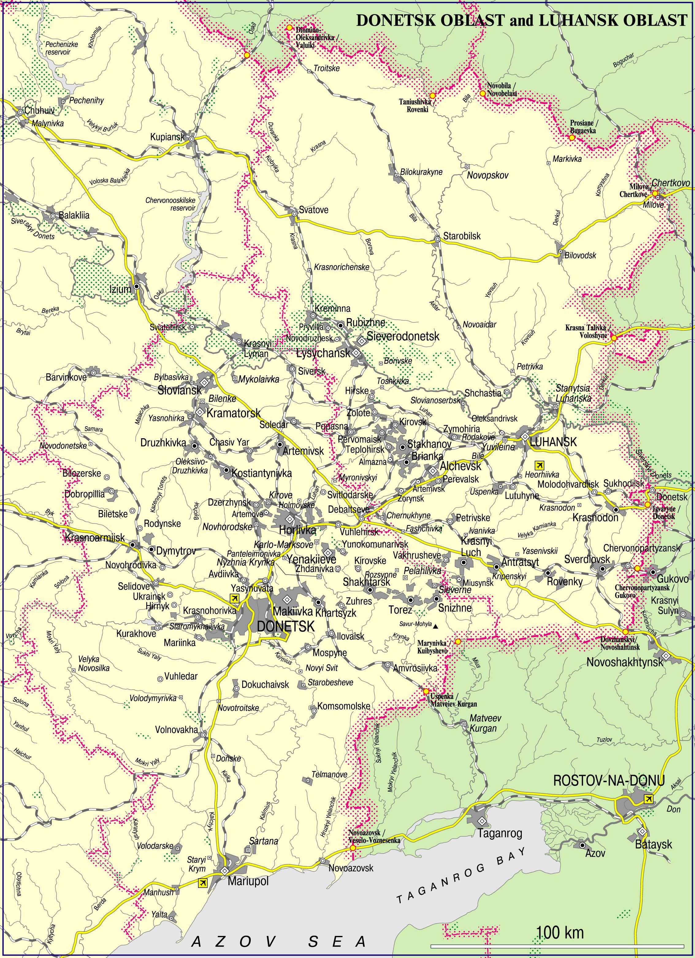 Ukraine: Situation Escalates in Donbass Region
