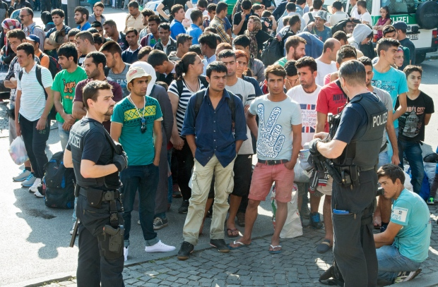Migrants Involved in 70,000 Crimes This Year in Germany
