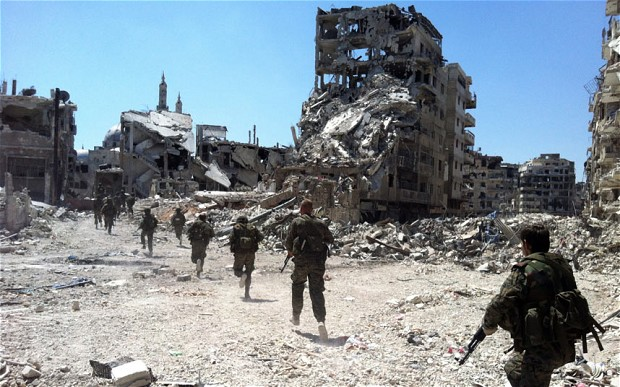 Syrian Army restores calm in Homs City after intense fighting
