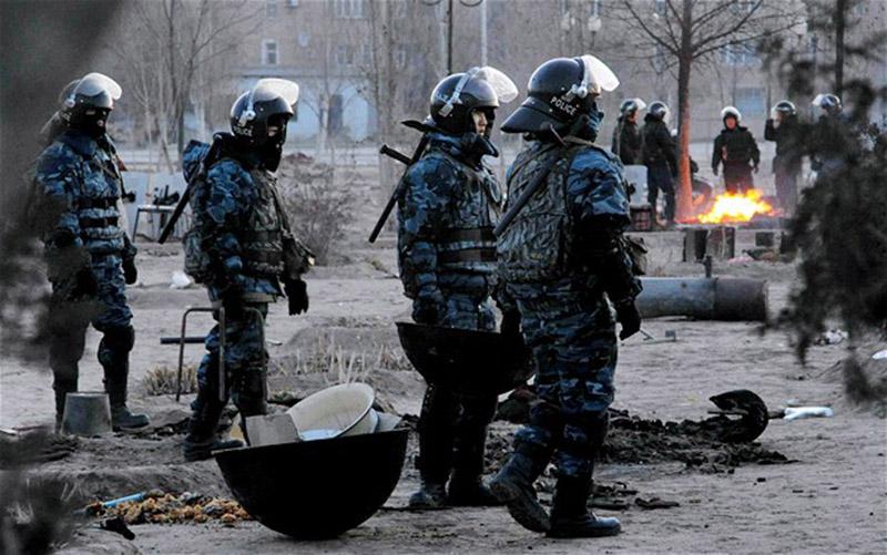 A failed insurgency attempt in Kazakhstan