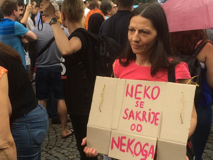 Ne davimo Beograd - or How Belgrade Resists It's Drowning
