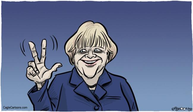 Angela Merkel Pledges to Use All Her Strength to Prevent Fragmentation of the EU