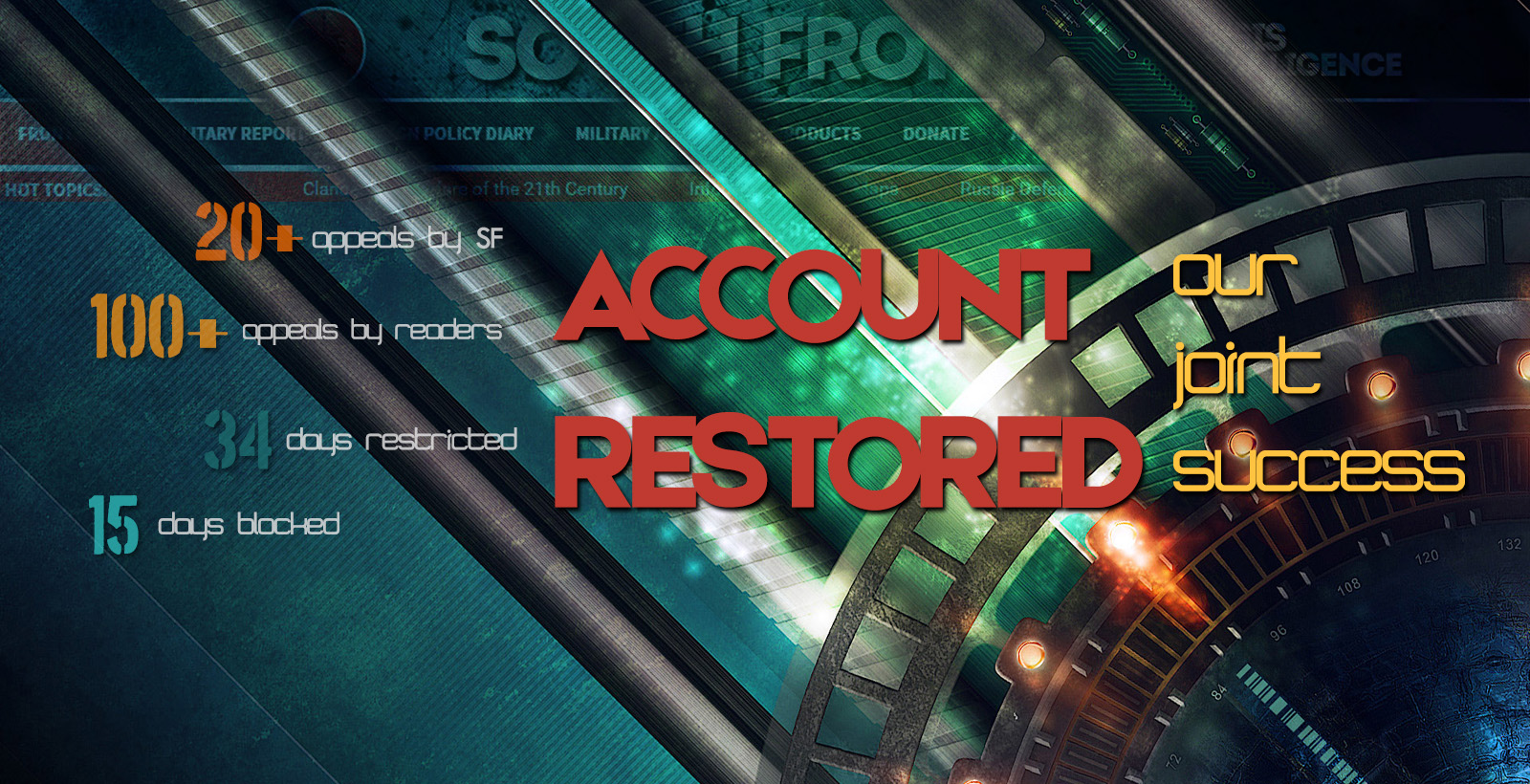 Breaking: PayPal Restored SouthFront's Account