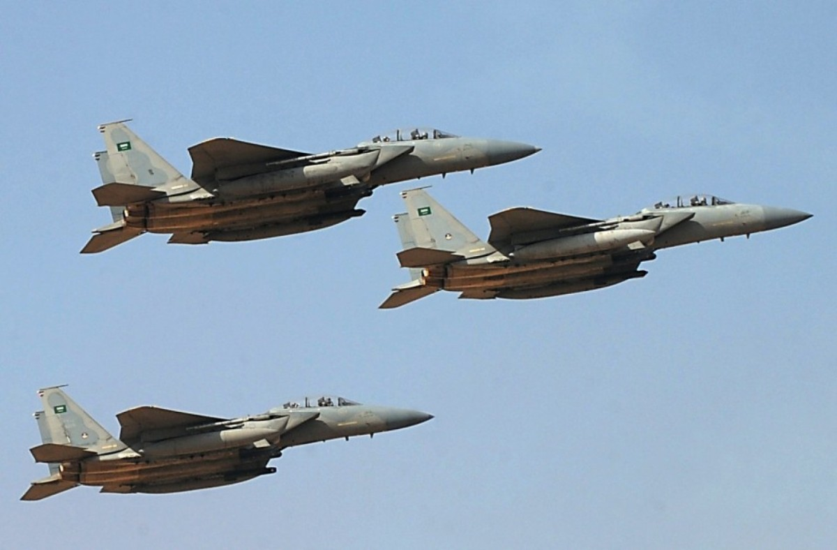 In Video: Saudi Warplanes Destroy Houthi Ballistic Missile At Ma'rib Front