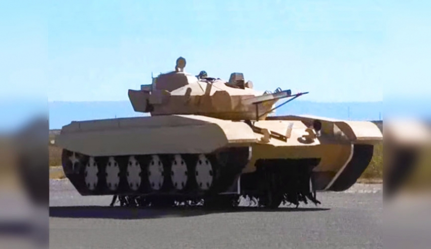 T-72 Cardboard Tanks as Targets for US and Bulgarian Military (Video)