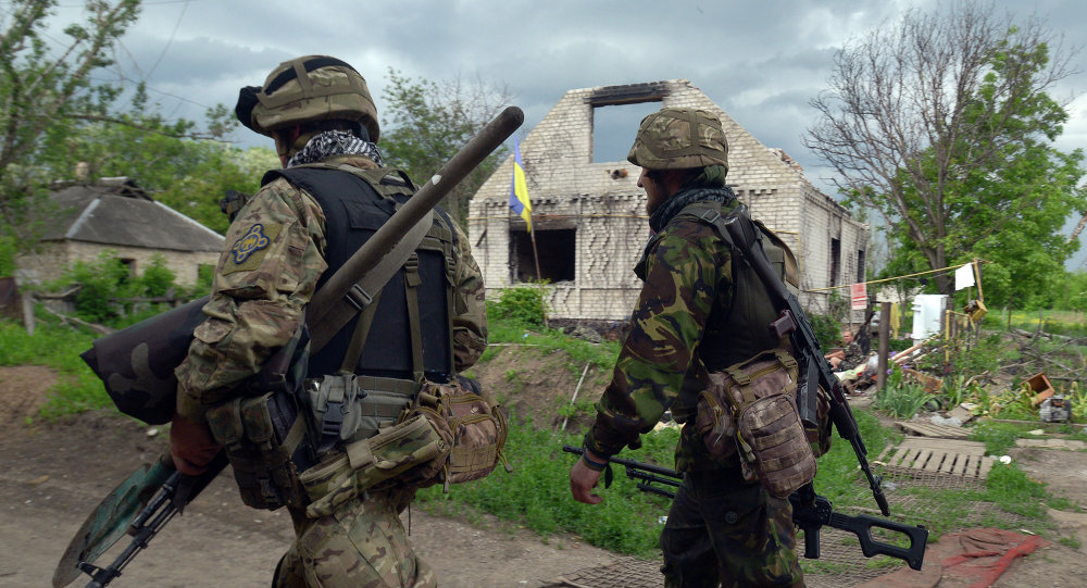 4 Ukrainian Soldiers Die in Artillery Attack in Donbass Region