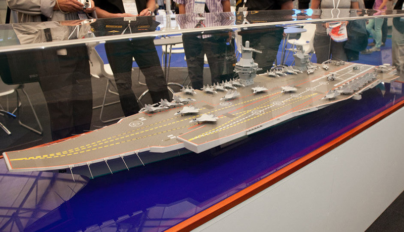 Russia Offers India to Buy Its Nuclear Aircraft Carrier 'Storm'
