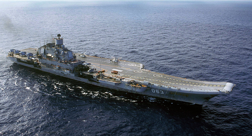Russia's Aircraft Carrier to Take Part in Syria Operation in Second Half of Year