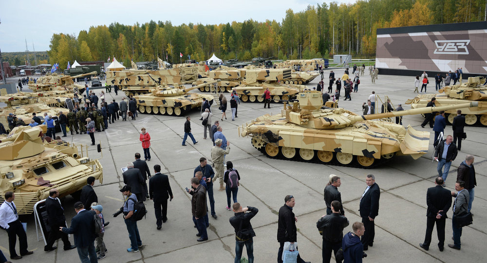 Russia Sells Military Gear worth $4.6 Billion in 2016