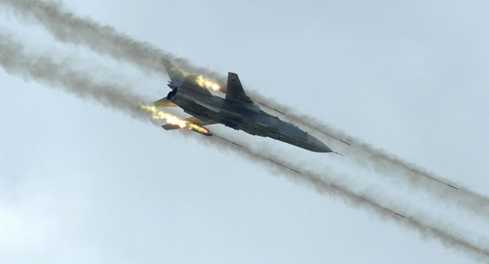 Russia's Airstrikes Kill At Least 18 ISIS Terrorists in Central Syria