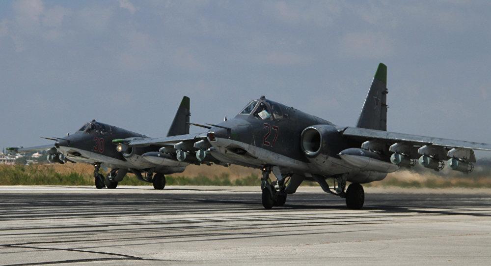 Russia's Aircraft Bomb Terrorist Centers in Idlib & Damascus