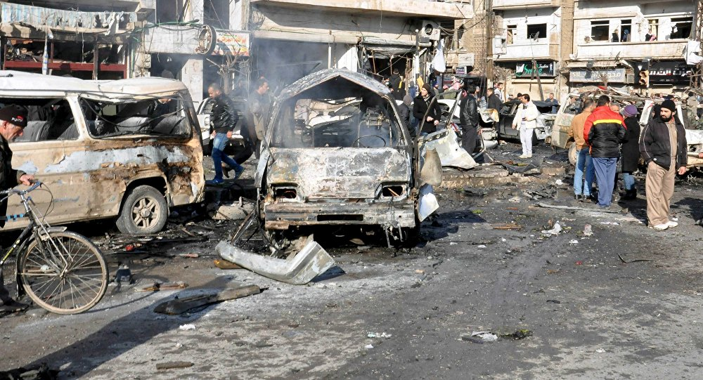 Terrorist Attack in Syria's Qamishli: 44 Killed, 170 Wounded (Video)