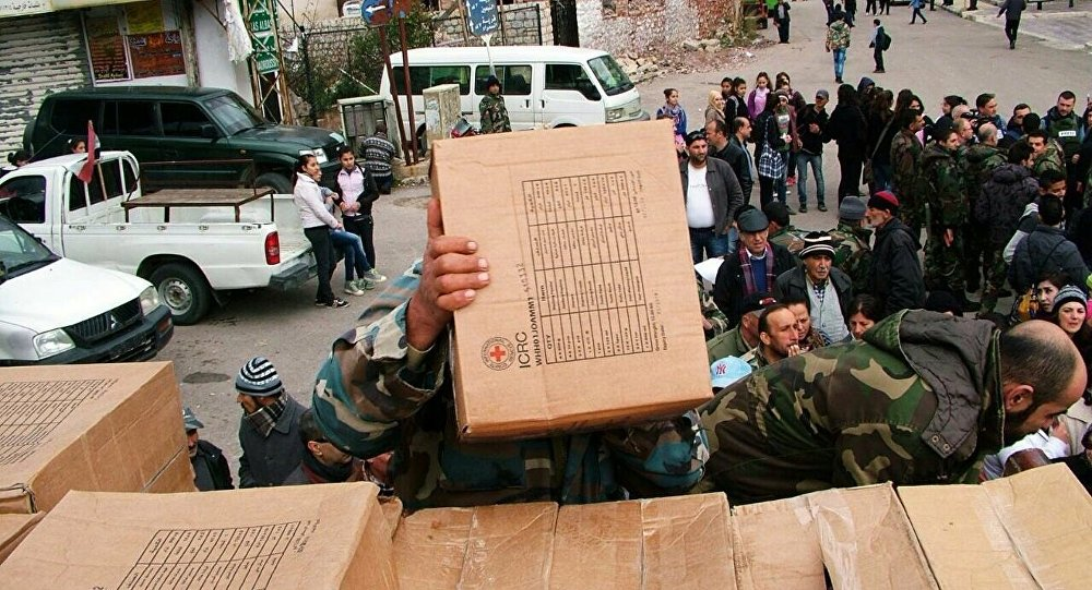 Russia Delivers Over 5 Tons of Humanitarian Aid to Syria's Hama