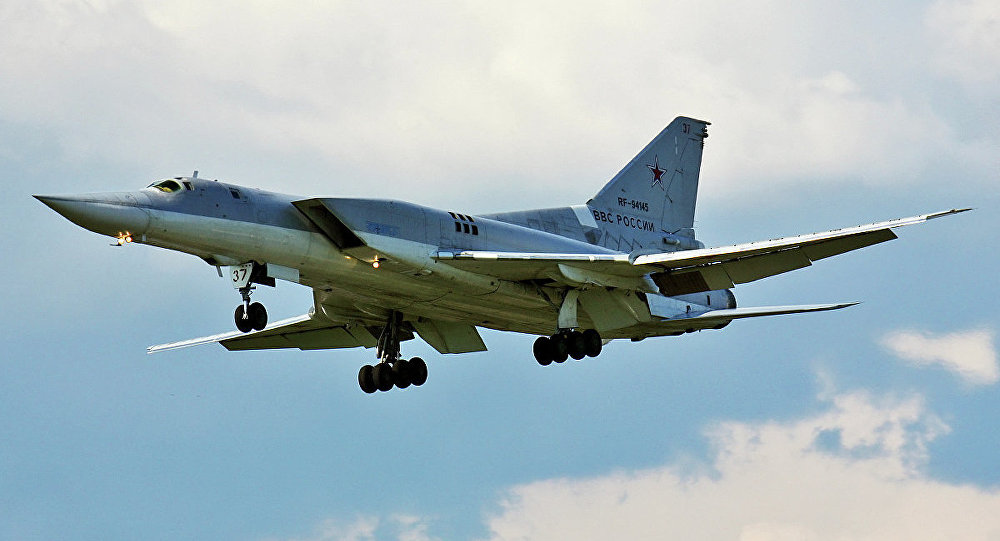 VIDEO: Russian Strategic Bombers Stike ISIS Terrorists near Palmyra
