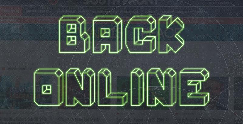 SouthFront.Org Backs Online After 8 Hours Offline