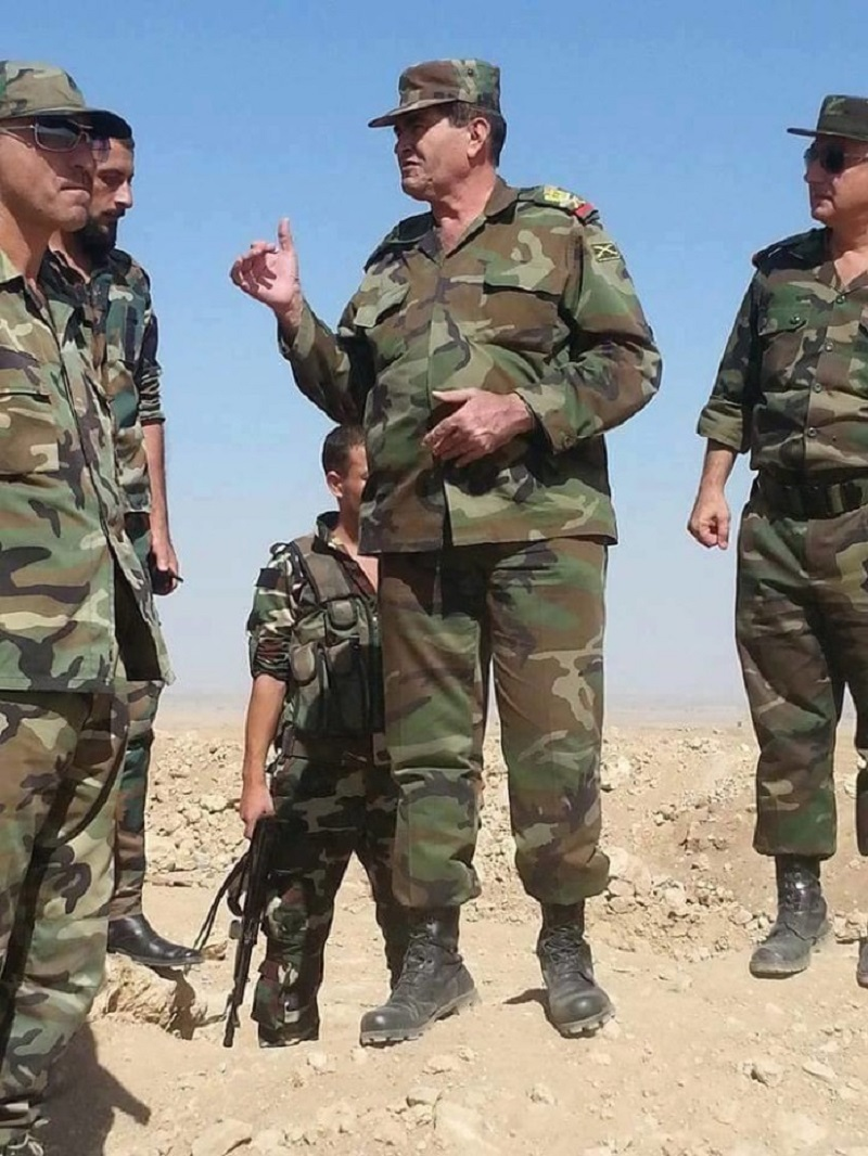 Syrian Army replaces top commander in east Syria