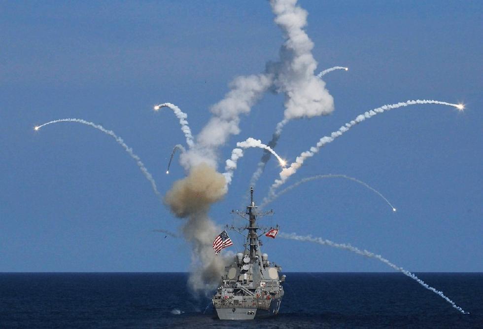 Destroyer USS The Sullivans Damaged After Missile Explodes After Launch