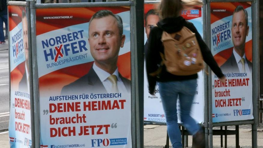Austria Has Second Chance Become First State With Far-Right Head in EU