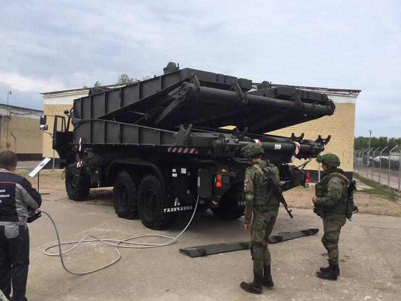 First Photos of New Russian Heavy Mechanized Bridge TMM-3M2