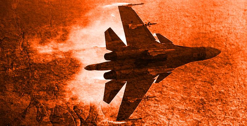 Syrian and Russian Warplanes Crash ISIS Units near Palmyra and Deir Ezzor