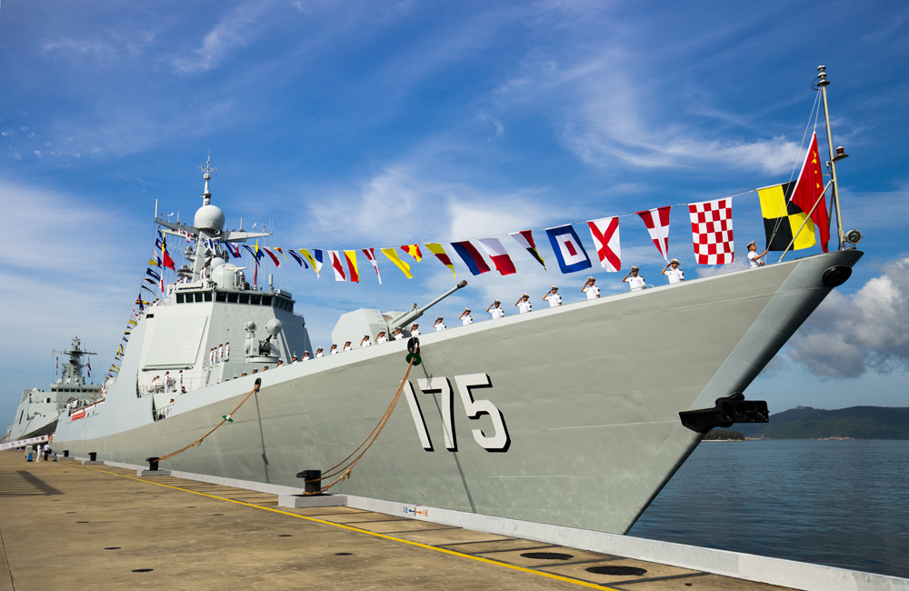 China Gets New Guided-Missile Destroyer and Considers to Set Up Air Defense Zone in South China Sea