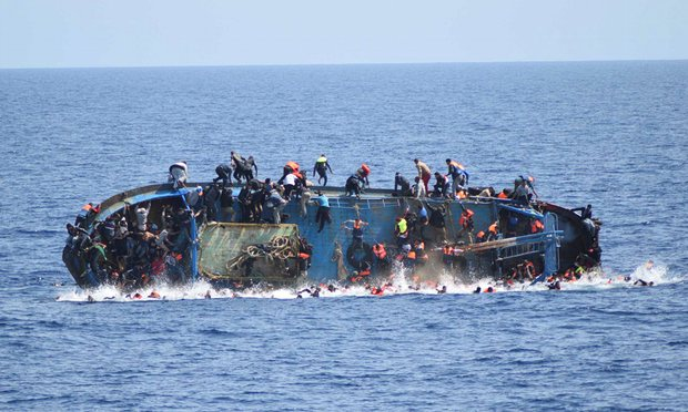 2,900 Migrants Died Crossing Mediterranean in 2016