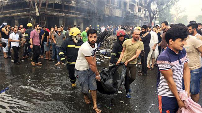 Iraq: Blasts Kill 172 in Baghdad Shopping Areas (Video, Photo)