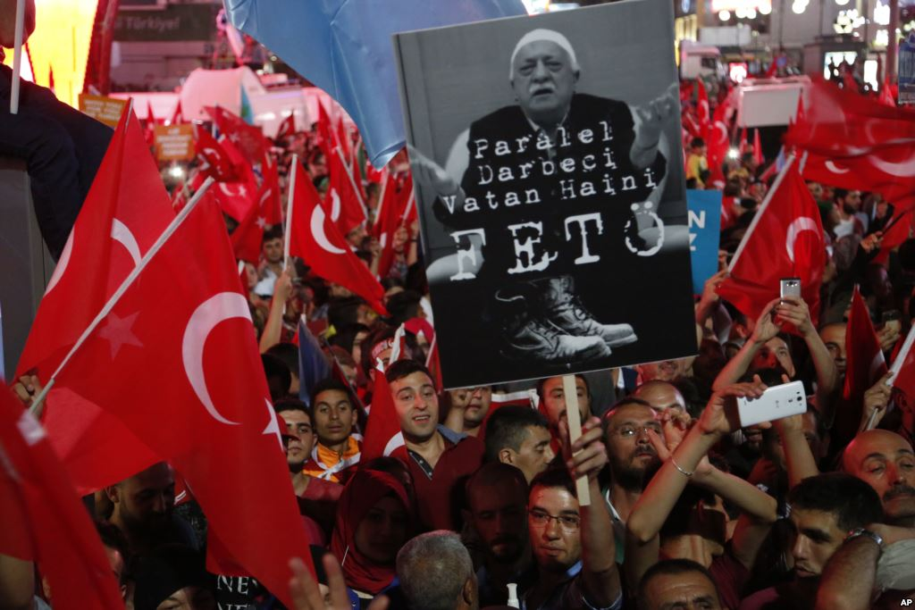 Turkey Collects Evidence of US Links to the Coup