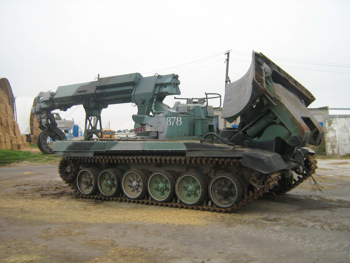 Syria Receives New Batch of Russian IMR-2M Combat Engineering Vehicles