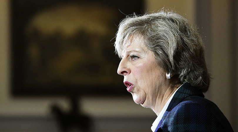 Theresa May: UK Can't Guarantee Status of EU Citizens after Brexit