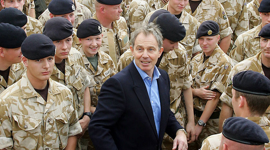 UK: Intervention in Iraq Was Mistake