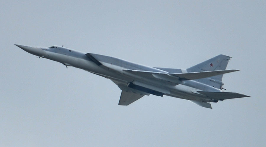 Russian Long Range Bombers Tu-22 Destroy Major ISIS Camp in Syria