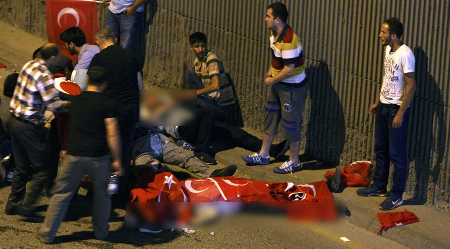 60 Killed in Ongoing Turkish Coup. Gunfire in Istanbul