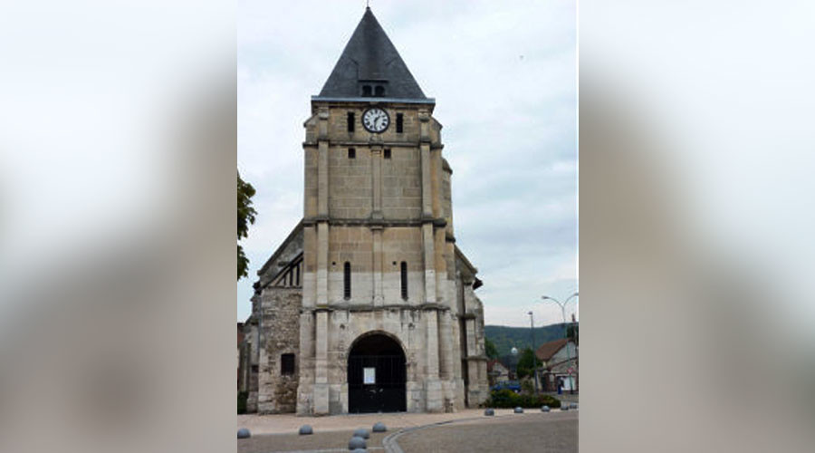 Hostage Situation in French Church, Priest Killed