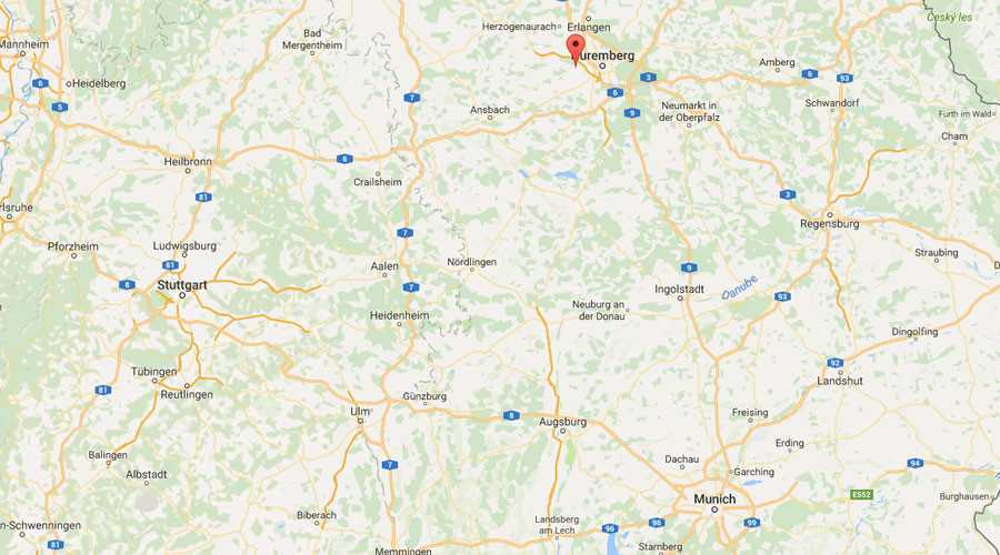 Map Of Zirndorf Germany.Germany Explosion Outside Refugee Reception Centre In Zirndorf Near