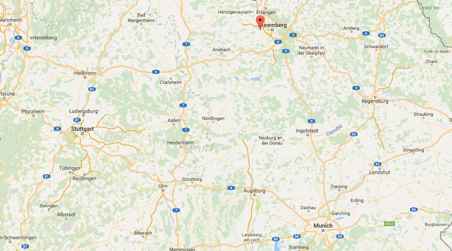 Germany: Explosion Outside Refugee Reception Centre in Zirndorf near Nuremberg